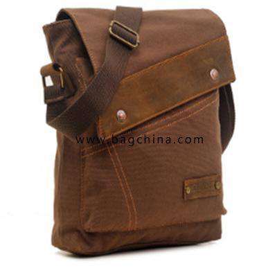 Canvas Vertical Retro Shoulder Bags