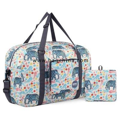 Foldable Travel Duffel Bag Luggage Sports Gym Water Resistant