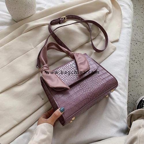 Crocodile Pattern PU Leather Crossbody Bags For Women 2020 New Fashion Small Shoulder Handbags Female Summer Tote Bag