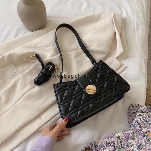 Small PU Leather Crossbody Bags For Women 2020 Shoulder Handbags Female Travel Fashion Cross Body Bag Armpit Bags